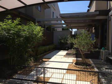 赤磐市O様ガーデンリフォーム11